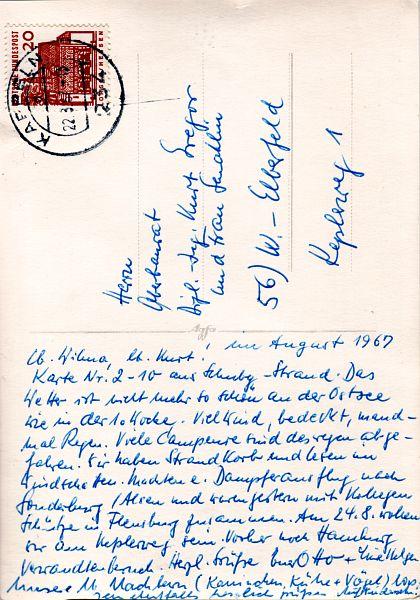 Schubystrand 1967