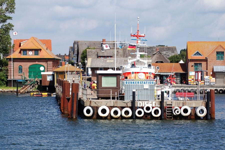 Maasholm - Bunkerstation - Foto: Ulli Erichsen (06.08.2013)