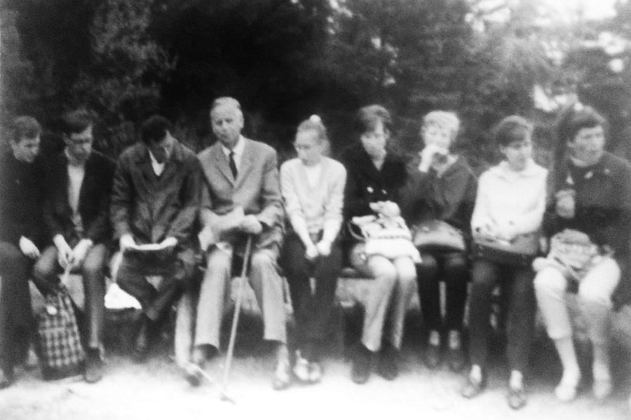Klaus-Harms-Schule - OIII - Wandertag 1965