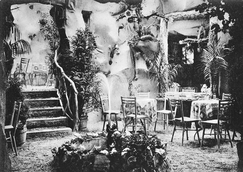 Kappeln - Lorenzen's Wintergarten (Drachenhöhle) - 1906