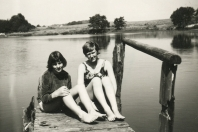 1968 - Bistensee - Ausruhen