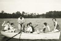 1968 - Bistensee - Rudern