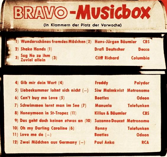 BRAVO-Musicbox 1964/29