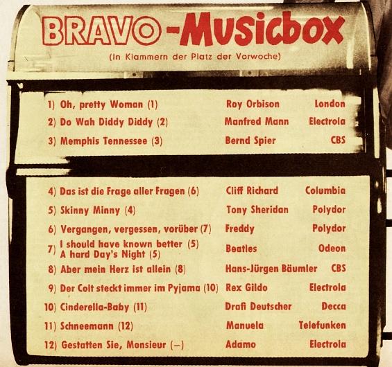 BRAVO-Musicbox 1964/52