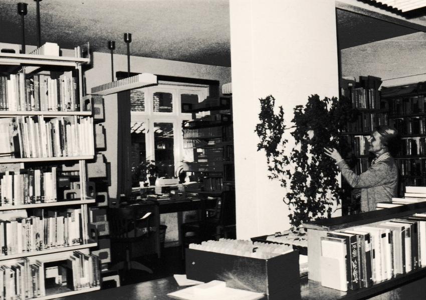 Stadtbücherei Kappeln 1969