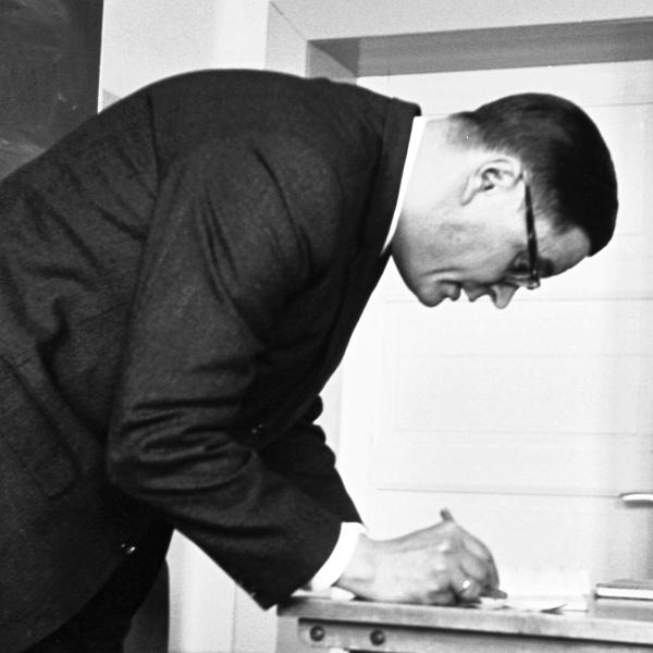 Dr. Georg Buhtz - Foto: Manfred Rakoschek (1968)
