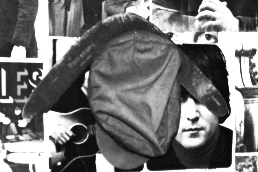 Beatles-Wand mit Bumerang (1967)