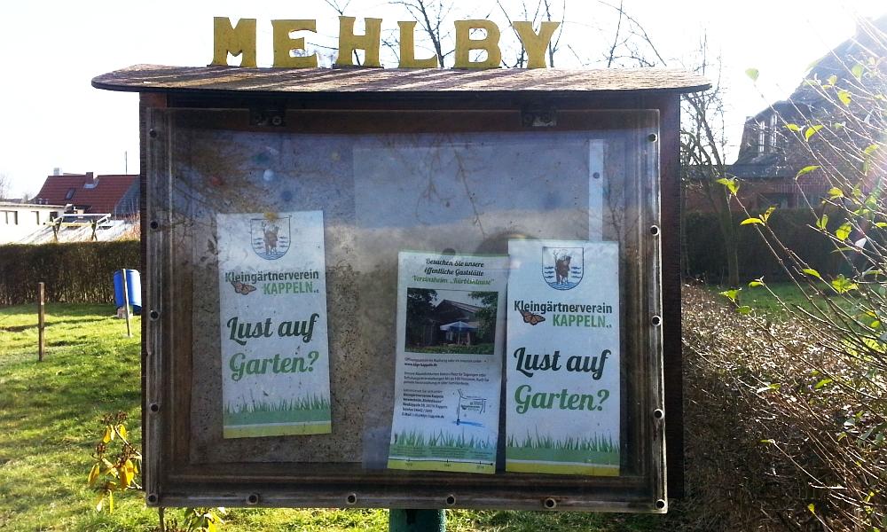 Kleingartenanlage Mehlby - Foto: Daniela Sandmann (22.02.2015)