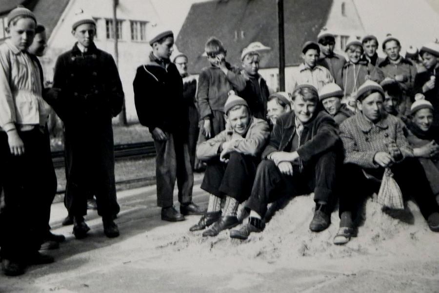 Klassenfahrt nach Rantum 1957