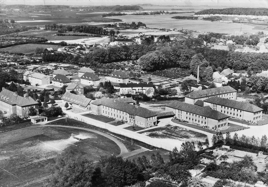 Mittelschule Kappeln - Ansichtskarte von 1961