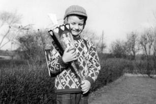 Grundschule Mehlby - Erster Schultag 1963