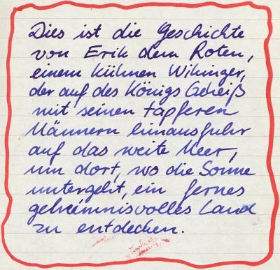 Erik der Rote - Intro