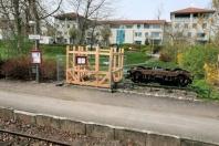 Kappeln - Fahrkartenhäuschen - Foto: Eckhard Schmidt (29.04.2010)