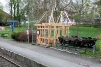 Kappeln - Fahrkartenhäuschen - Foto: Eckhard Schmidt (06.05.2010)