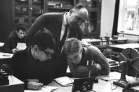 Klaus-Harms-Schule - Physikunterricht - Foto: Manfred Rakoschek (1968)