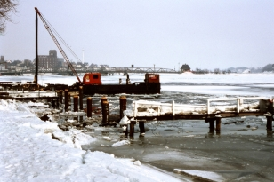 An der Schlei - Foto: Fritz Reinhardt (25.02.1979)