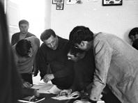 Heinz Fuge - Klaus-Harms-Schule - Foto: Manfred Rakoschek (1968)