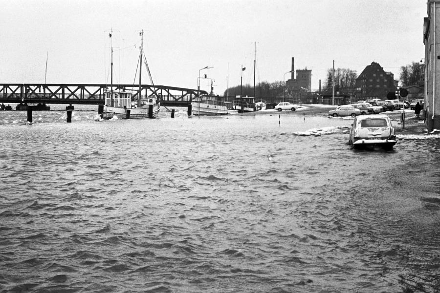 Kappeln - Nordhafen - Foto: Manfred Rakoschek (14.03.1969)