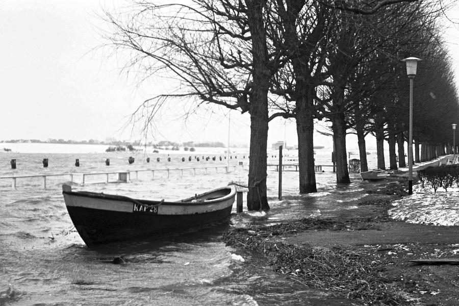 Kappeln - Südhafen - Foto: Manfred Rakoschek (14.03.1969)