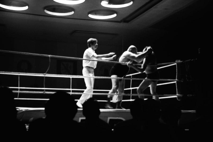 Berlin - Catchen (Wrestling) - Foto: Achim Gutzeit (März 1968)