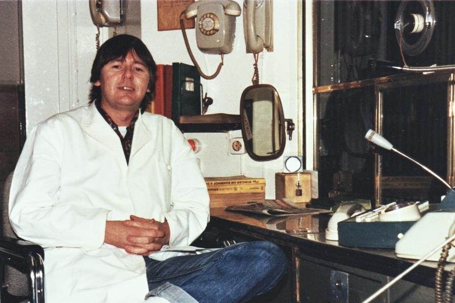 Dieter Kramer - Foto: Achim Gutzeit (1982)