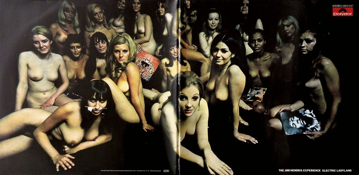 LP-Klapp-Cover - The Jimi Hendrix Experience - Electric Ladyland