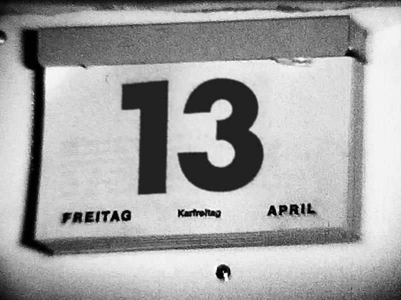 Karfreitag, der 13. April 1979