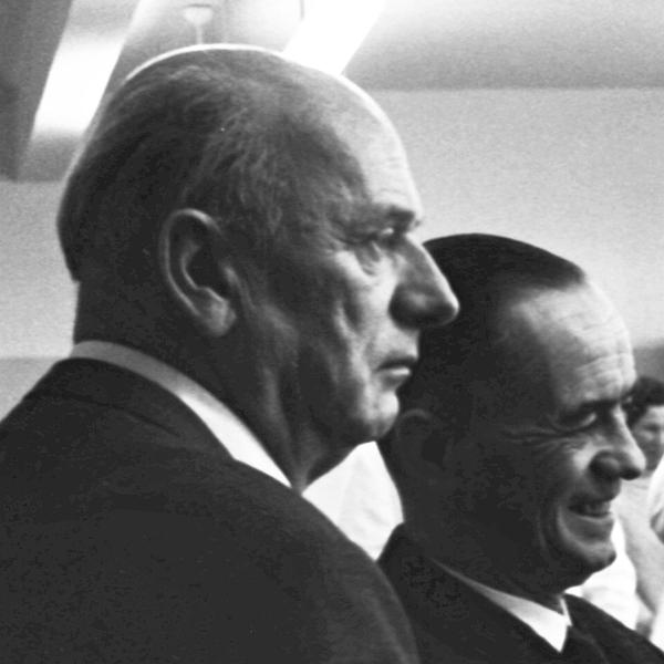 Fritz Krassow | Edgar Pankalla - Foto: Manfred Rakoschek (1968)
