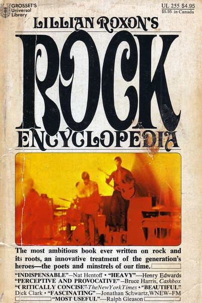 Lillian Roxon's Rock Encyclopedia (USA 1969)