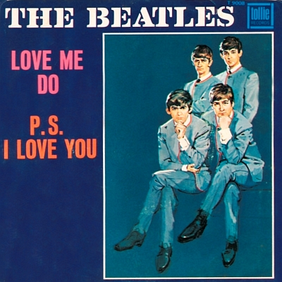 Single-Cover - Love me do