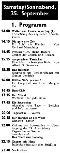 TV 25.09.1965