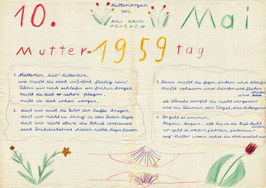 Muttertag 1959