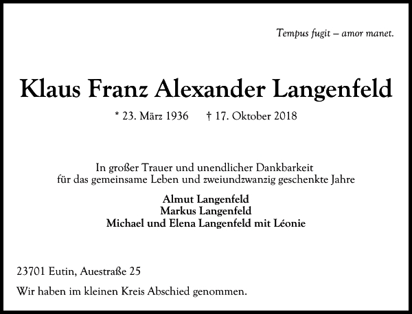Klaus Langenfeld