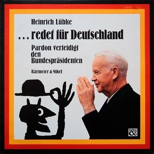 PARDON-Platte Nr. 1 - Heinrich Lübke