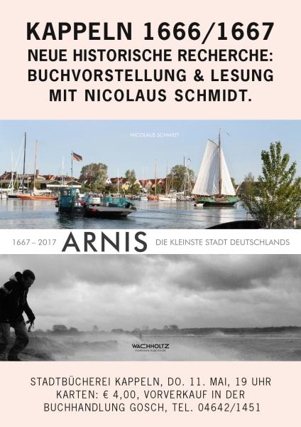 Nicolaus Schmidt - Lesung