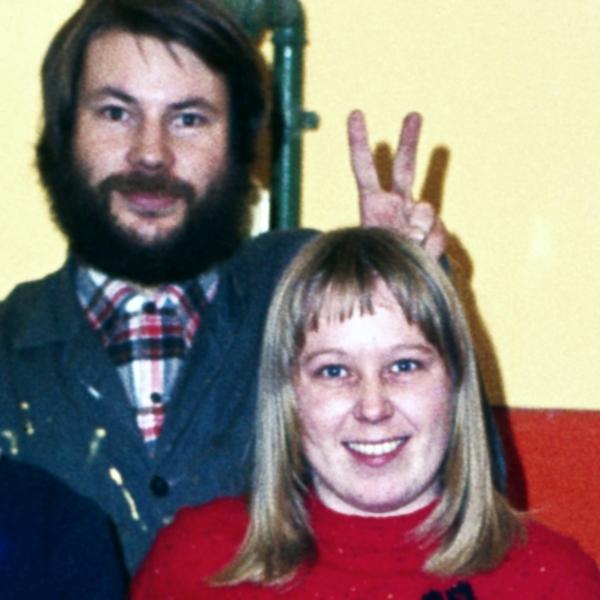 Frohe Ostern wünschen Achim & Hanna (Foto: 1976)