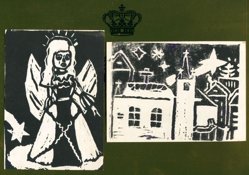 KHS - Kunstunterricht - Linolschnitt