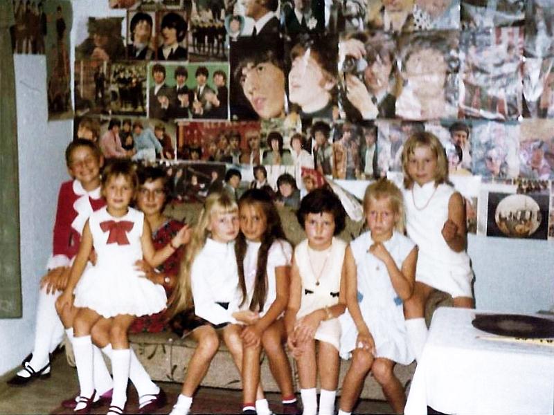 Kindergeburtstag 1968