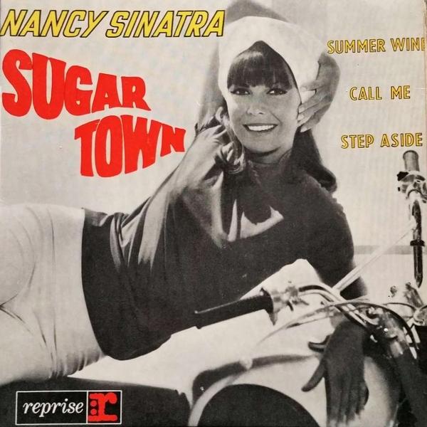 Single-Cover - Nancy Sinatra - Sugar Town