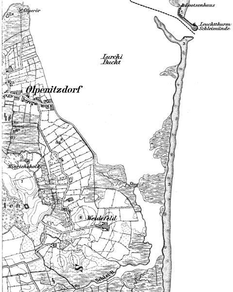 Blatt 1326 - Königlich Preußische Landesaufnahme 1877