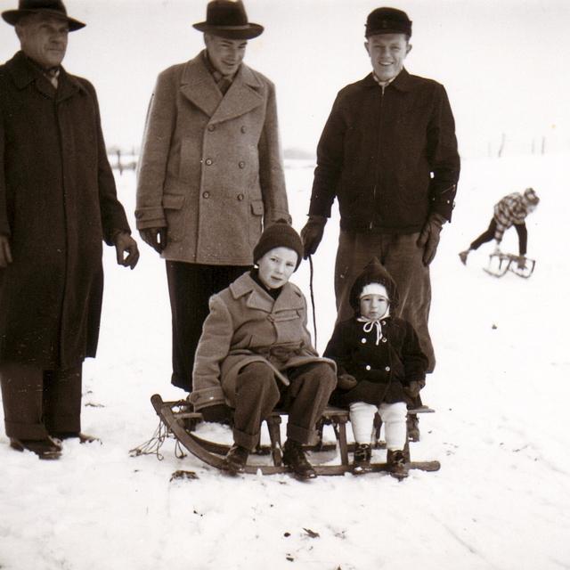 Kappeln - Weihnachten 1957