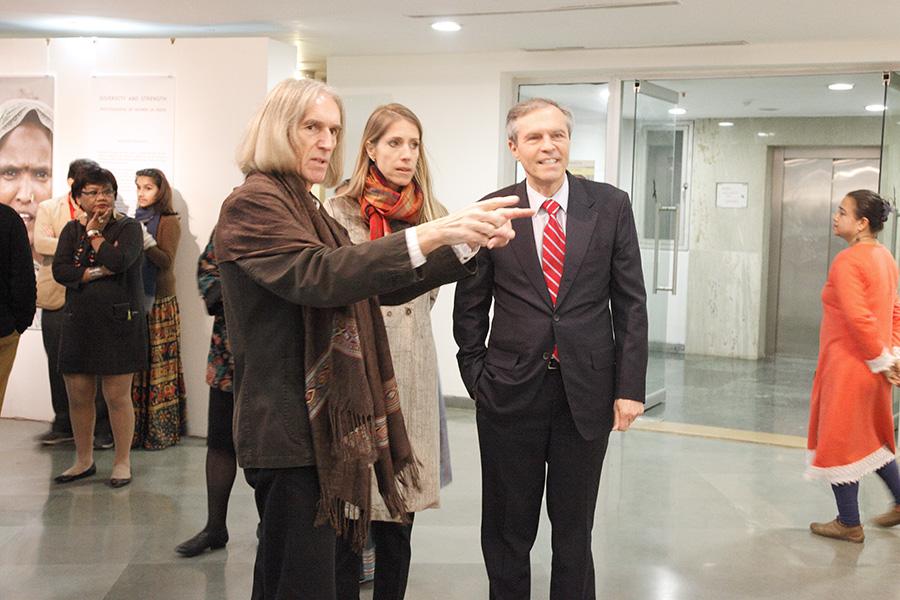 Nicolaus Schmidt - Ausstellungseröffnung