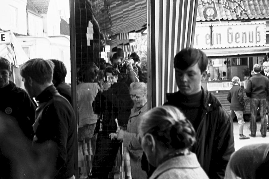 Jahrmarkt 1968 - Foto: Achim Gutzeit