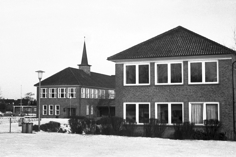 Kappeln - Mittelschule - Foto: Manfred Rakoschek (1968)