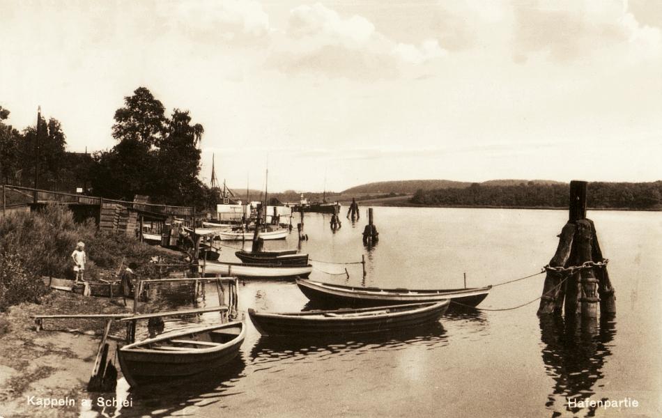 Kappeln - Nordhafen (Poststempel: 1932)