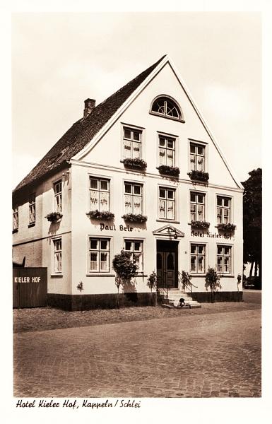 Kappeln - Hotel Kieler Hof (60er-Jahre)