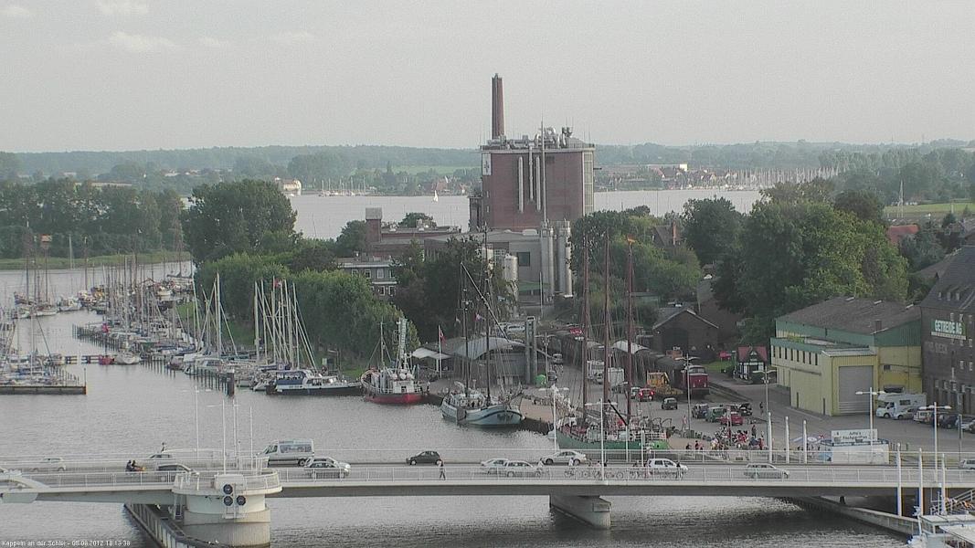 Webcam Kappeln - Richtung Cremilk (05.08.2012)