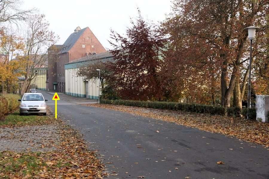 Kappeln - Bahnhofstraße - Foto: Eckhard Schmidt (03.11.2011)