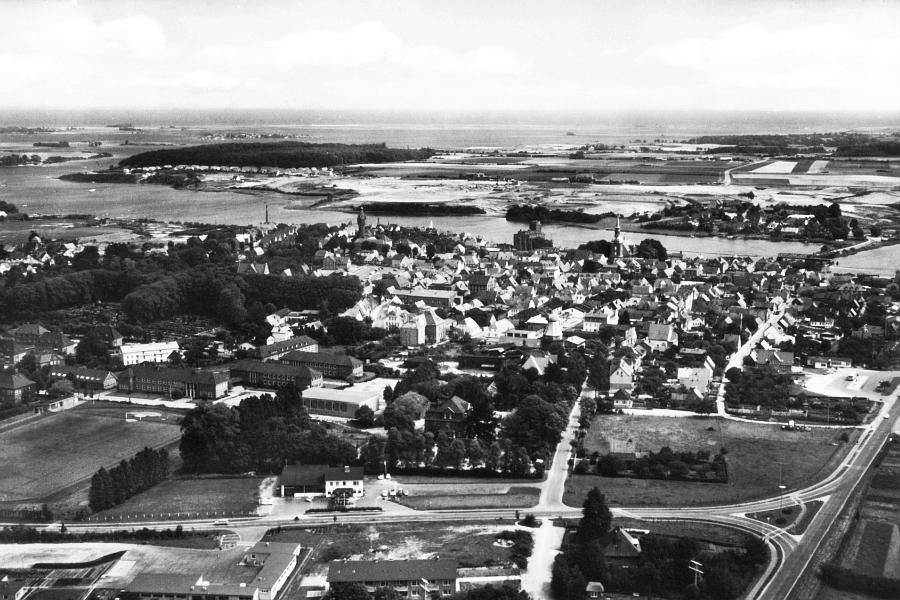 Kappeln - Luftaufnahme (1970)