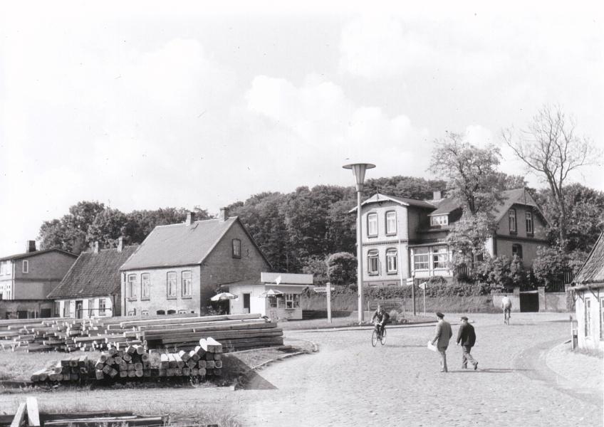 Hospitalstraße/Bahnhofsweg - Foto: Stadtarchiv Kappeln